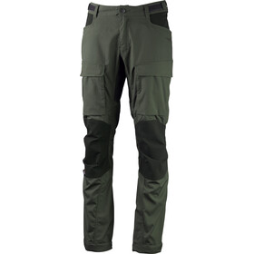 Lundhags Authentic II Pantaloni lunghi Uomo Regular verde oliva